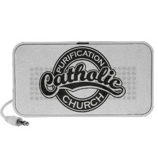 Purification Catholic Church Black iPod Speakers