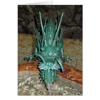 Purification Dragon Greeting Card