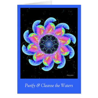 Purify & Cleanse the Waters Card