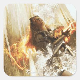 Purifying Fire (Chandra) Square Sticker