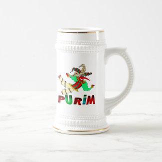 Purim Beer Stein