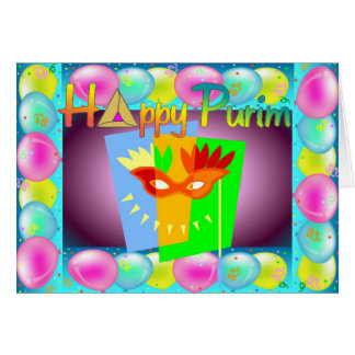 Purim Card 3
