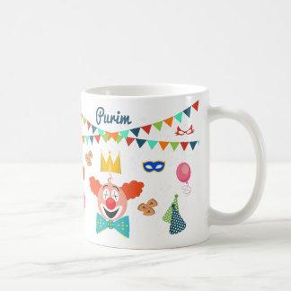 purim coffee mug