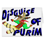 Purim Disguise Cards
