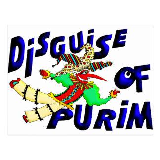 Purim Disguise Postcard