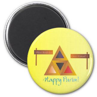 Purim Hamantaschen magnet