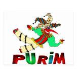 Purim Post Card