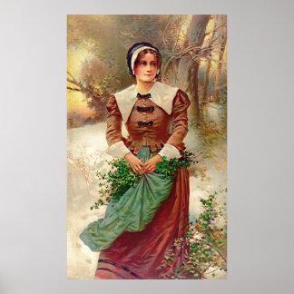 Puritan Maid 1897 Poster