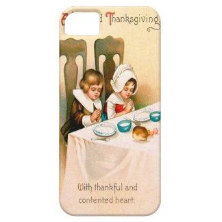 Puritan Thanksgiving Dinner iPhone SE/5/5s Case