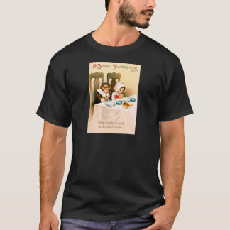 Puritan Thanksgiving Dinner T-Shirt