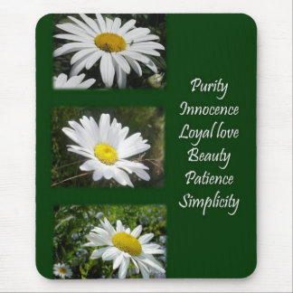 Purity, Innocence and Love Mouse Pad
