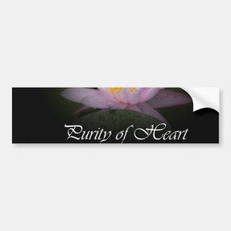 Purity of Heart Bumper Sticker