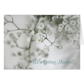 Purity Save The Date Note Card