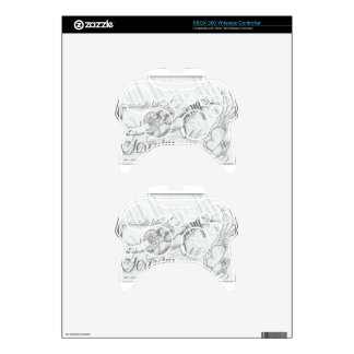 Purity serenity and life xbox 360 controller decal