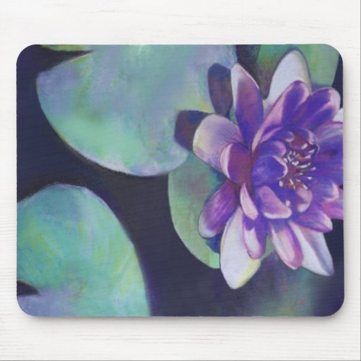 Purity - Waterlily Pastel Mousepads