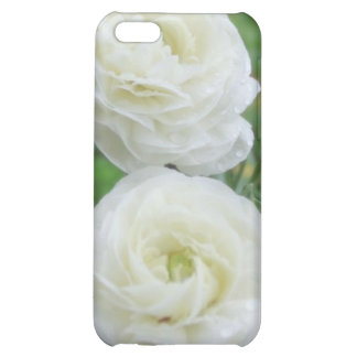 Purity White Roses Case For iPhone 5C