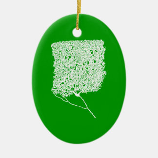Purkinje Cell Ceramic Ornament