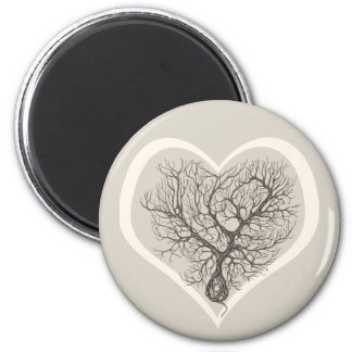 Purkinje Cell Lover - Round Magnet