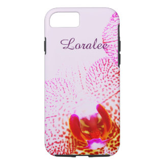 Purle blooming orchids - phalenopsis iPhone 8/7 case