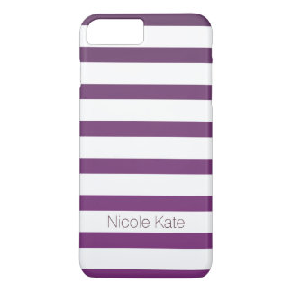 purle strips monogram iPhone 8 plus/7 plus case
