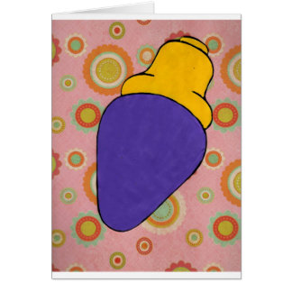 Purlple light card