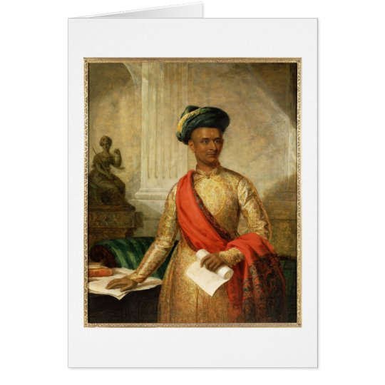 Purniya, Chief Minister of Mysore, c.1801 (oil on Card
