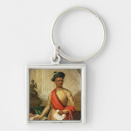 Purniya, Chief Minister of Mysore, c.1801 (oil on Keychain