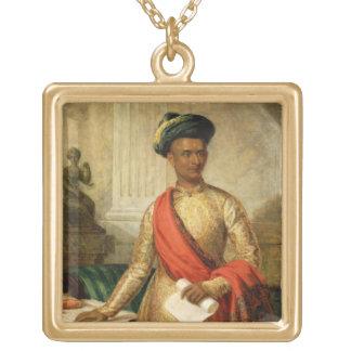 Purniya, Chief Minister of Mysore, c.1801 (oil on Custom Jewelry