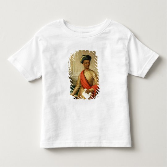 Purniya, Chief Minister of Mysore, c.1801 (oil on Toddler T-shirt