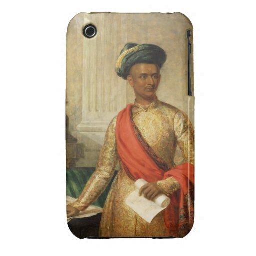 Purniya, principal ministro de Mysore, c.1801 Funda Bareyly There Para iPhone 3 De Case-Mate