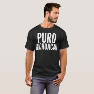 """Puro Michoacan"" Typography T-Shirt"