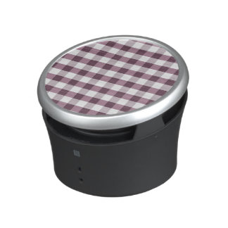 Purpe Table Cloth Pattern Bluetooth Speaker