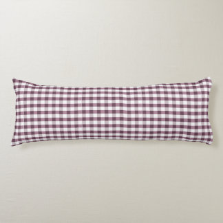 Purpe Table Cloth Pattern Body Pillow