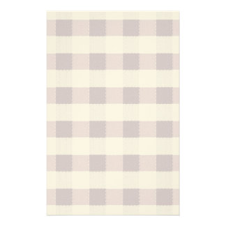 Purpe Table Cloth Pattern Stationery