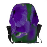 Purpel Poppy Bag Courier Bags