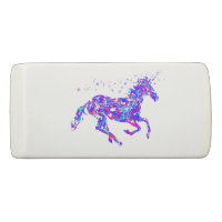 Purpl Swirl Unicorn Eraser Back to School Supplies
