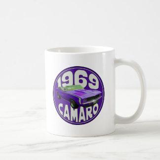 Purple 1969 Camaro Super Sport Coffee Mugs
