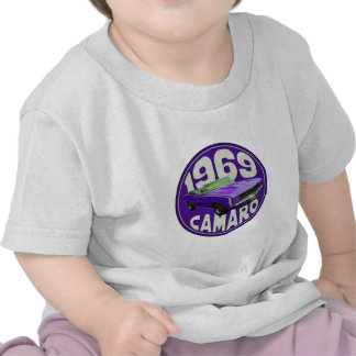 Purple 1969 Camaro Super Sport T-shirts
