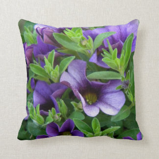 Purple 1a BCG with green Throw Pillow