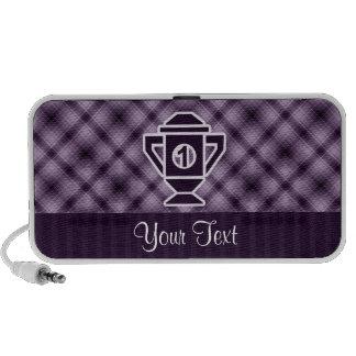 Purple 1st Place Trophy Portable Speaker