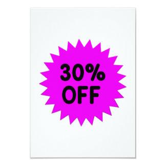 Purple 30 Percent Off Personalized Invitations