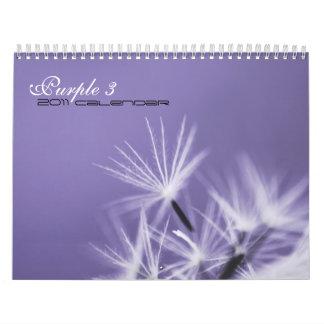 Purple 3 - 2011 calendar