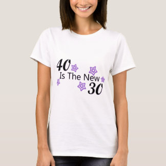 Purple 40 is the New 30 T-Shirt