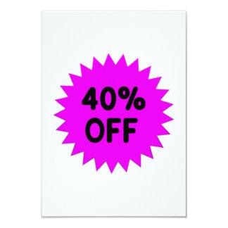 Purple 40 Percent Off Announcements