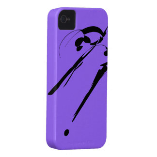 Purple 7 Slash! BlackBerry Bold Case-Mate Case-Mate iPhone 4 Case