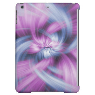 Purple Abstract Art iPad Air Covers