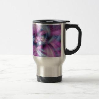 Purple Abstract Art Mug
