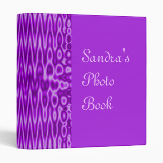 purple abstract binder