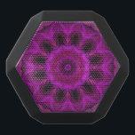 "Purple Abstract Boombot REX Black Bluetooth Speaker<br><div class=""desc"">Purple Abstract Boombot REX</div>"