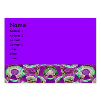 purple abstract business card templates